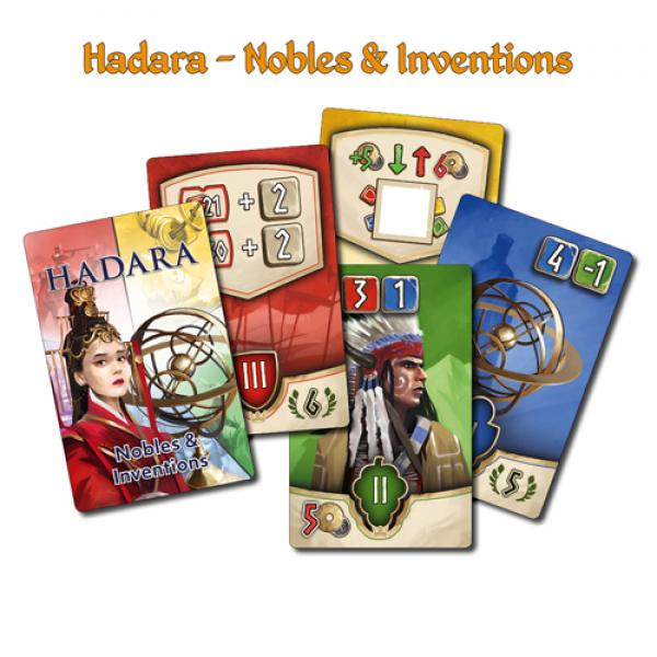 Hadara: Nobles & Inventions Mini Expansion [ 10% Pre-order discount ]