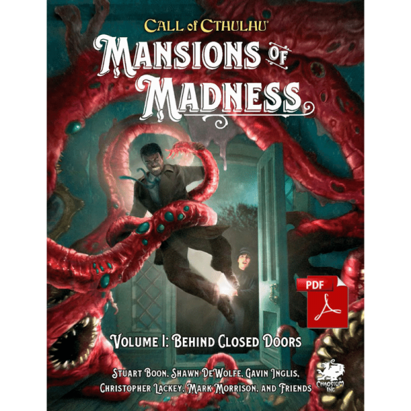 Mansions of Madness Vol. 1: Behind Closed Doors: Call of Cthulhu