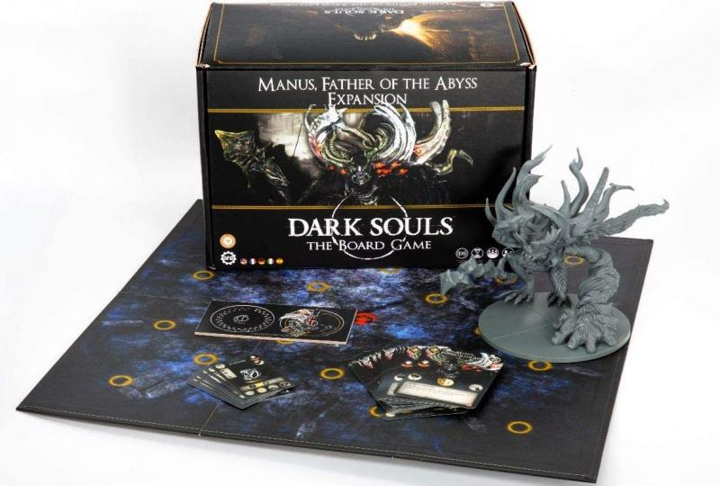 Manus, Father of the Abyss Expansion: Dark Souls The Board Game