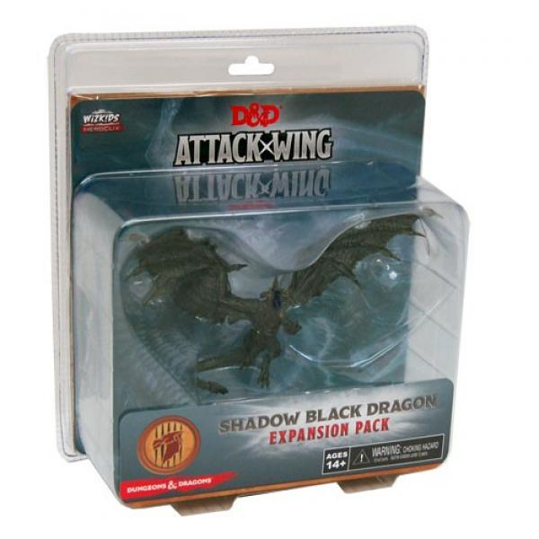 D&D Attack Wing: Shadow Black Dragon (Wave 2)