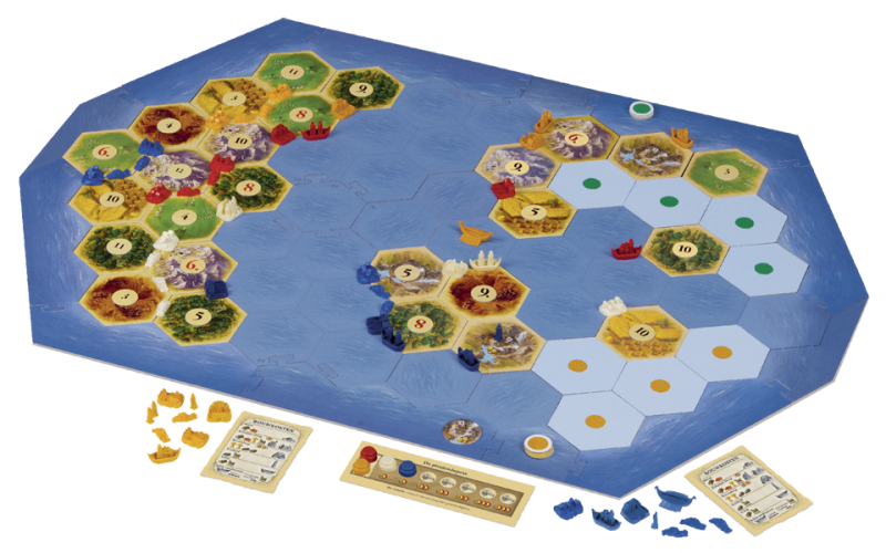 Catan (2015 Refresh) Explorers & Pirates