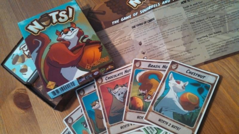 Nuts Card Game