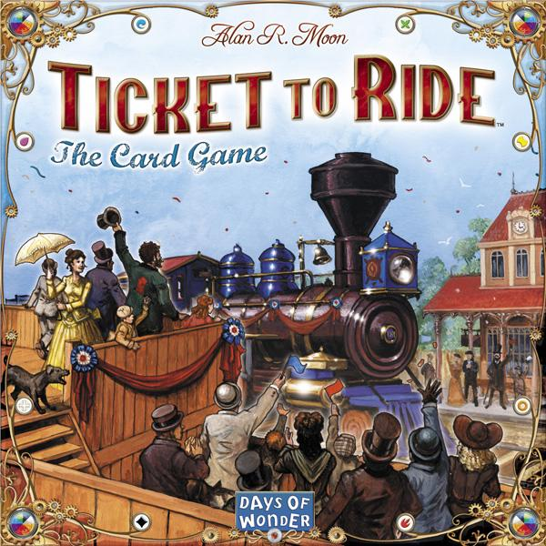 Ticket to Ride The Card Game MLV