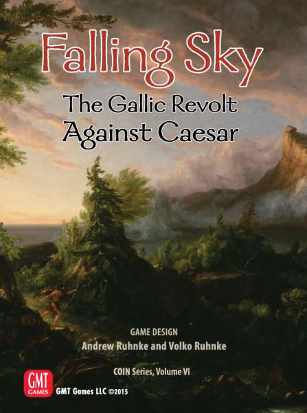 Falling Sky: The Gallic Revolt Against Caesar COIN Vol VI