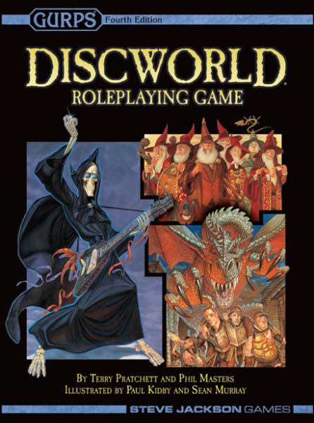Gurps Discworld Roleplaying Game 2nd Edition