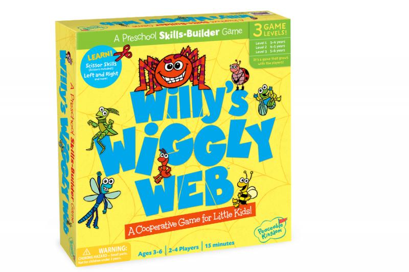 Willy's Wiggly Web