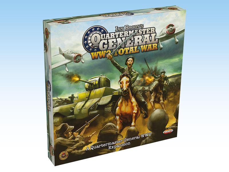 Quartermaster General: WW2 2nd Ed - Total War exp