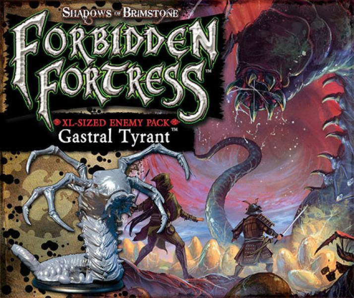 Shadows of Brimstone: Forbidden Fortress - Gastral Tyrant XL Enermy Pack