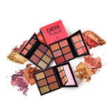 Cheek To Cheek Blush & Highlighter Palette - LLH002