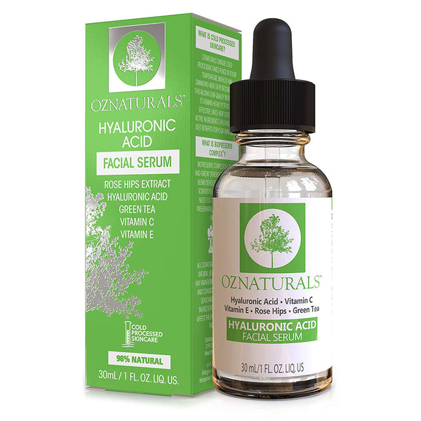 OZ Naturals Hyaluronic Acid Facial Serum, 30 ml