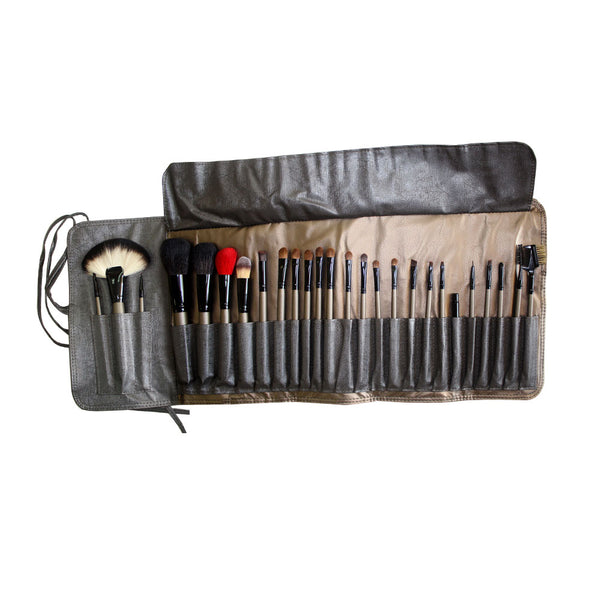 Forever52 Professional Make-up Brush Set With Fold-up Pouch (25 Pieces) - X028
