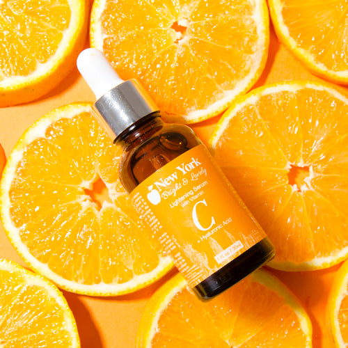 New York Bright & Lovely Lightening Serum with Vitamin C and Hyaluronic Acid 30ml