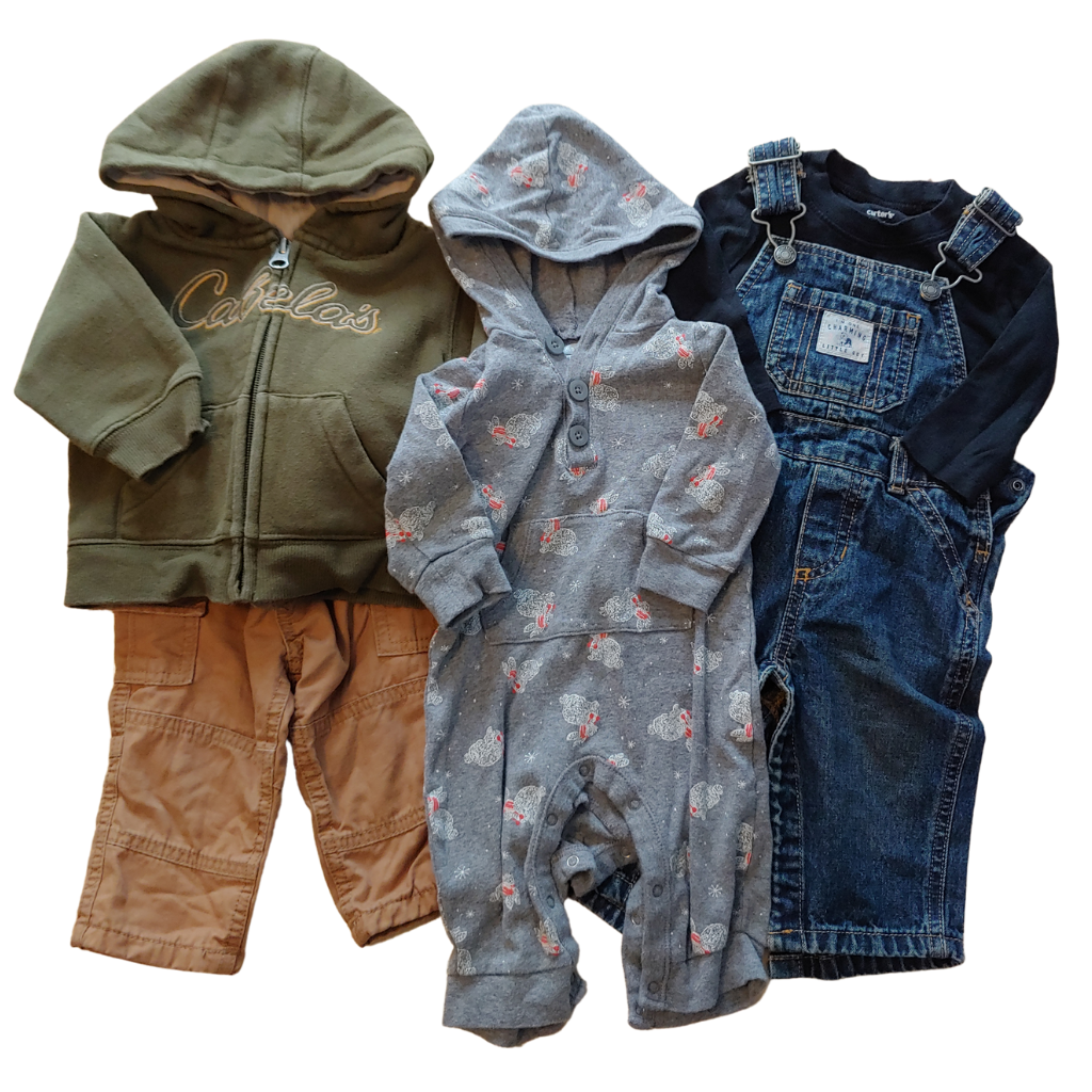 Boys  Size 3-6 MONTHS 6pc Clothing Bundle