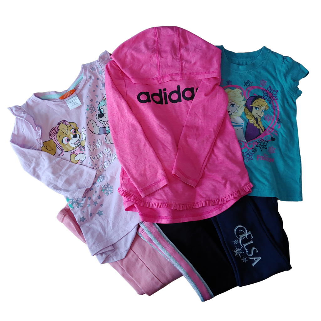 Girls Size 5 6Pc Clothing Bundle