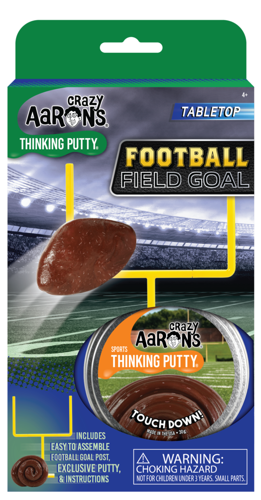 Crazy Aaron's Putty - Football Field Goal