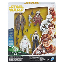 Load image into Gallery viewer, Star Wars Force LINK Battle on Crait 3.75-inch Figure 4-Pack