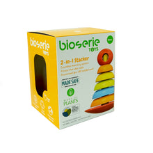 Load image into Gallery viewer, Bioserie Toys - 2 in 1 stacker