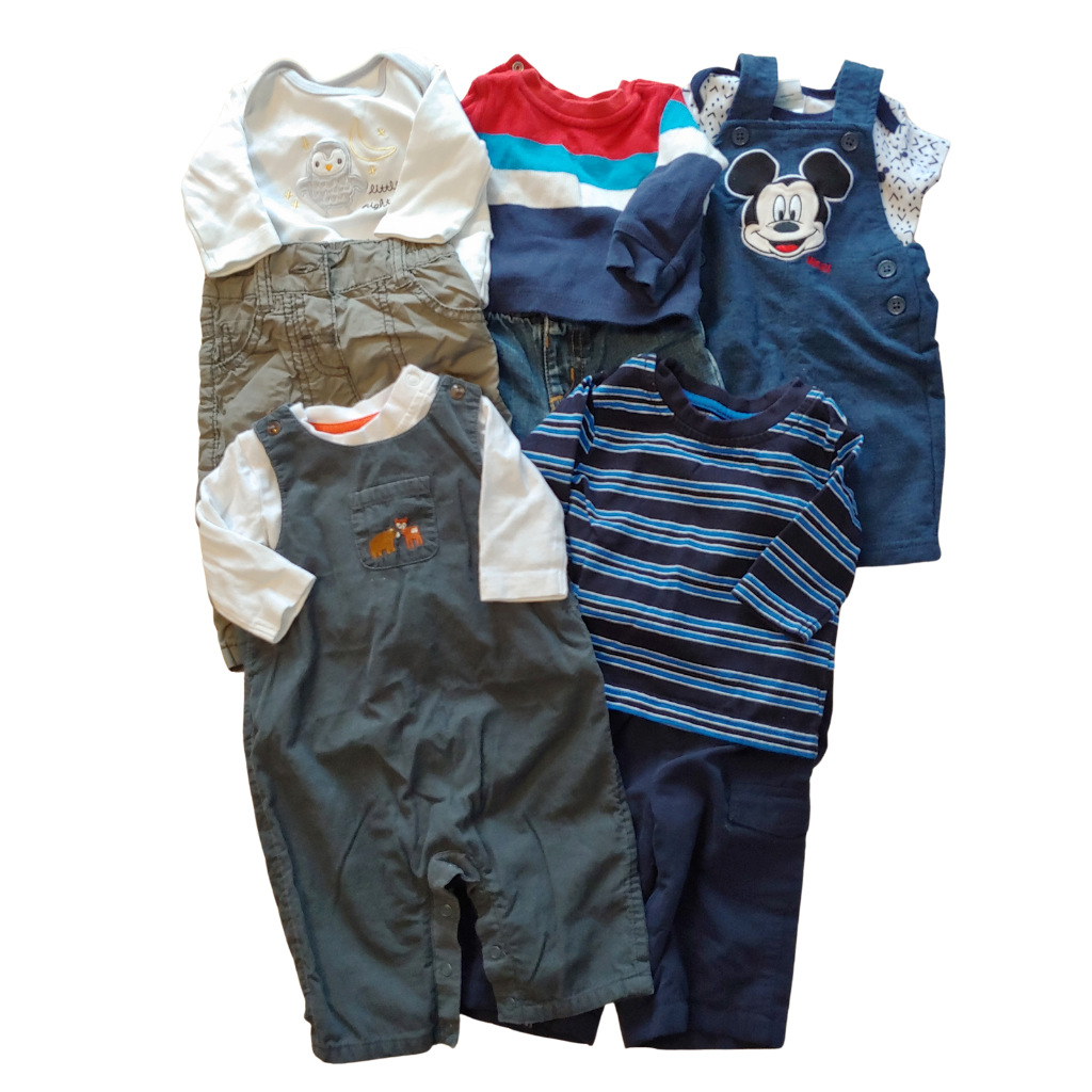Boys  Size 0-3 MONTHS 10pc Clothing Bundle