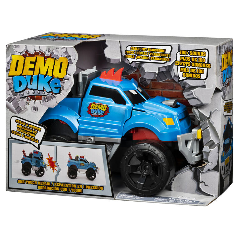 Demo Duke Crashing & Transforming Vehicle