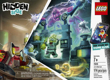Load image into Gallery viewer, LEGO Hidden Side JB's Ghost Lab 70418