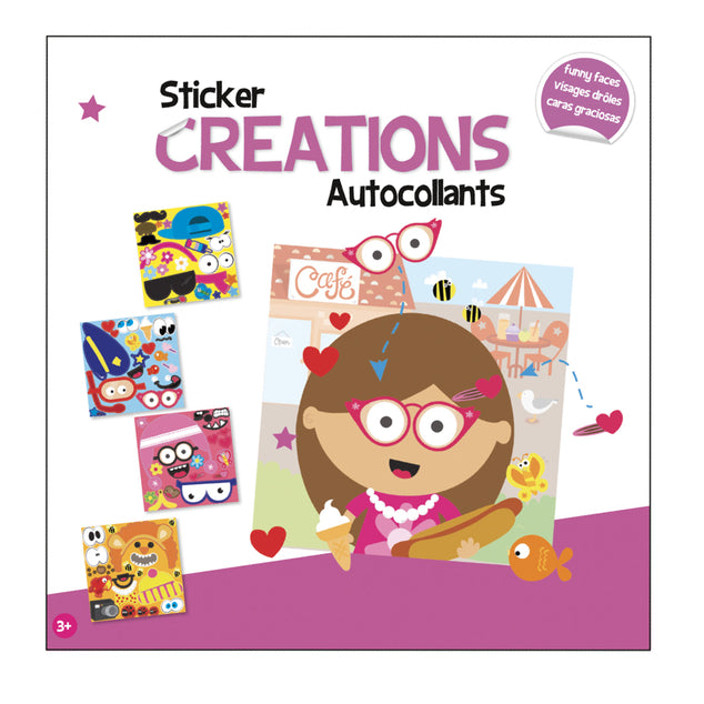 Sticker Creations- Funny Faces