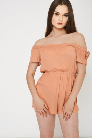 Women's Off Shoulder Playsuits