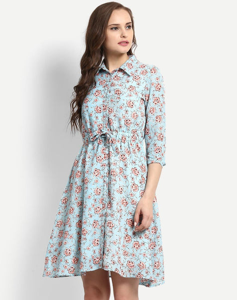 Women's Floral Elma Shirt Dress
