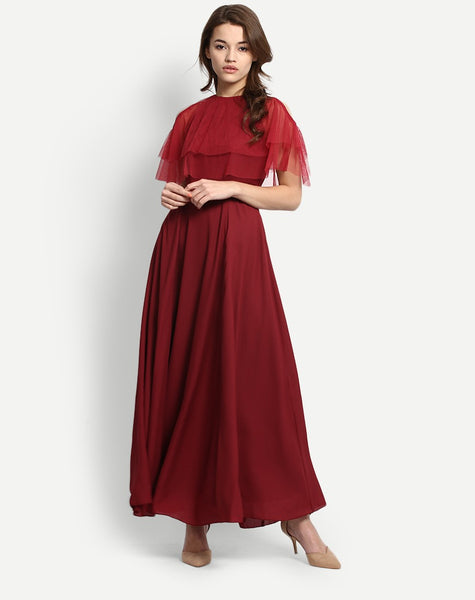 Women's Francina Short Sleeve Maxi Dress