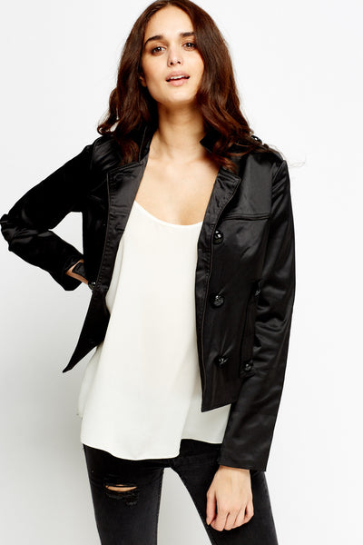Women's Double Breasted Belted Jacket