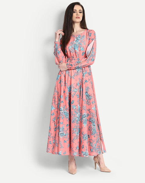 Women's Floral Edwina Flare Maxi Dress