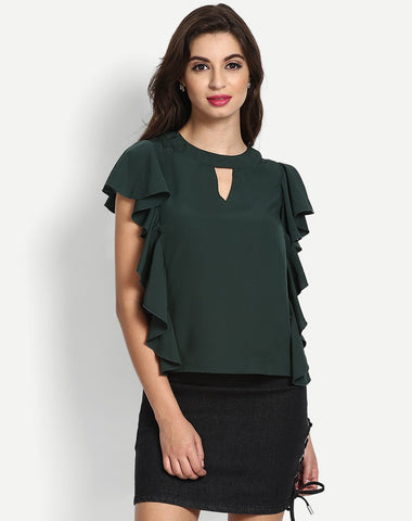 Women's Abel Frill Casual Tops