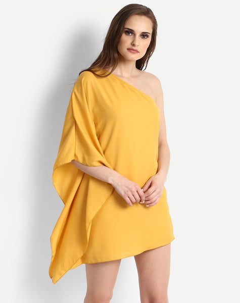 Women's Brenday One Shoulder Shift Dress