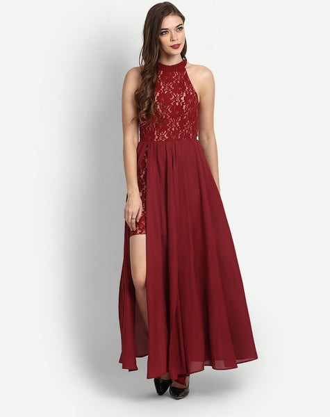 Women's Fawn Maxi Sleeveless Dress