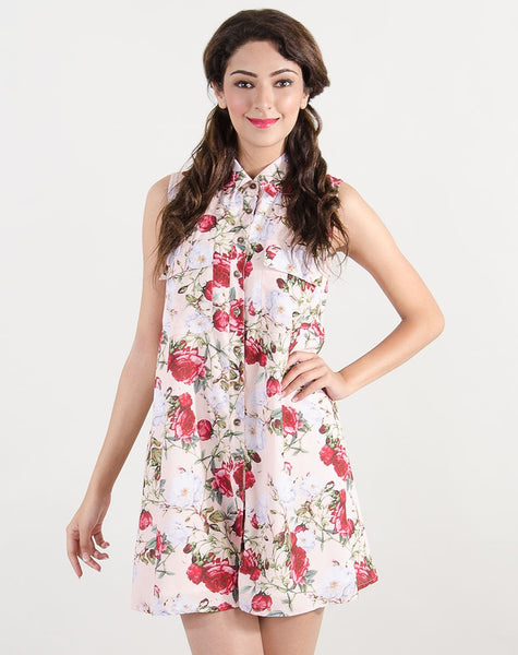 Women's Withers Floral Shirt Dress