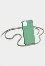Laden Sie das Bild in den Galerie-Viewer, iPhone case biodegradable - green/gold