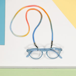 glasses lace - tie dye III
