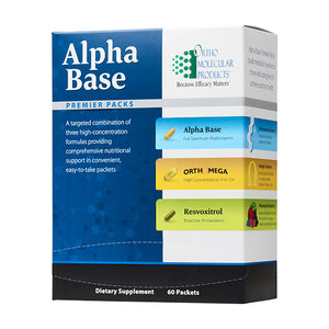 B Well Alpha Base Premier Packs