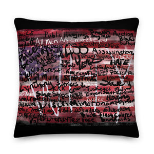 American Dream American Nightmare Pillow