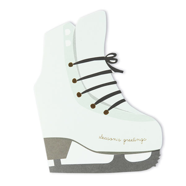 Karte «Skates» von Pleased to meet