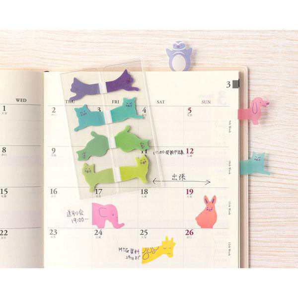 Index Sticky Notes «Cats» von Midori