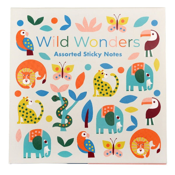 Sticky Notes Wild Wonders