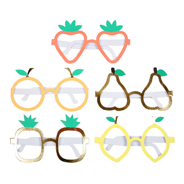 Paper Glasses «FRUITS» von Meri Meri