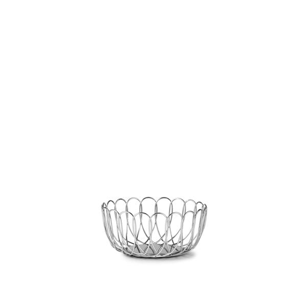 Fence Bowl Small Silver von Normann Copenhagen