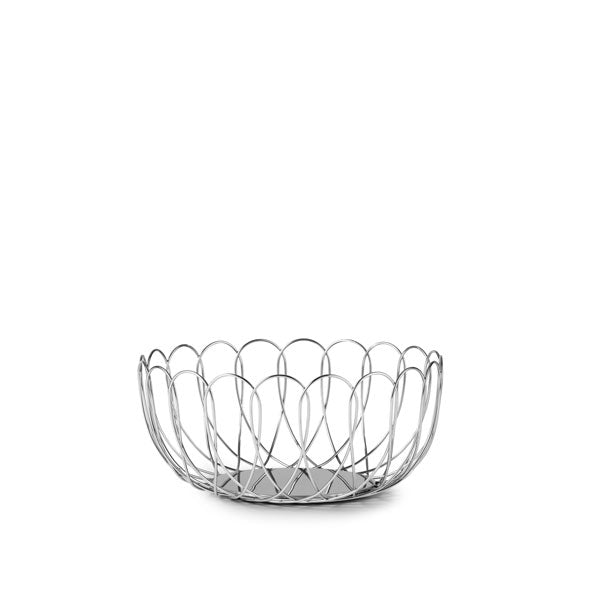 Fence Bowl Large Silver von Normann Copenhagen