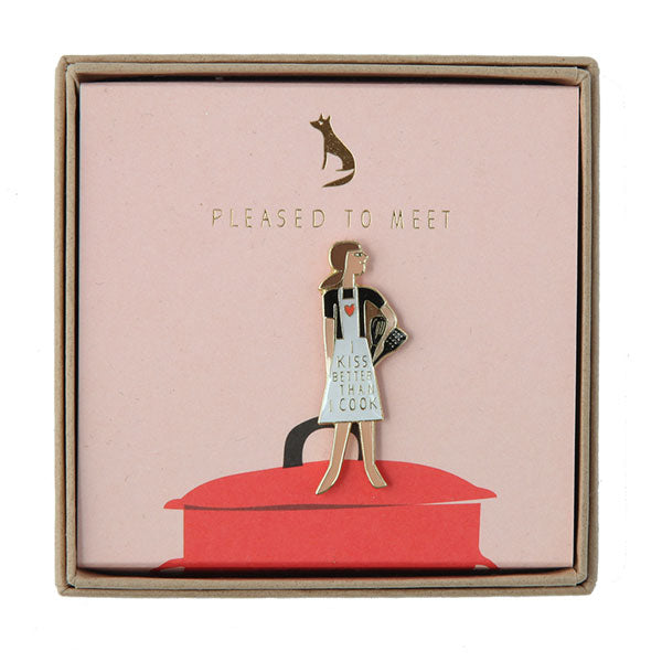 Pin «I kiss better than I cook» von Pleased to meet