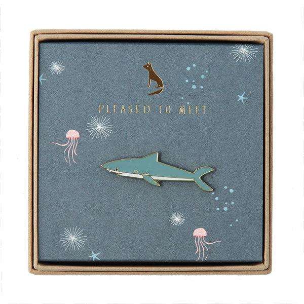 Pin «Shark» von Pleased to meet