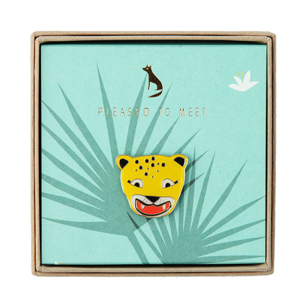Pin «Leopard» von Pleased to meet
