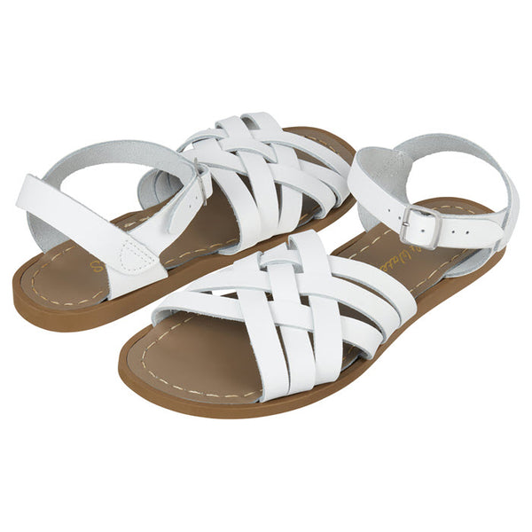 Salt Water Sandalen «RETRO» White