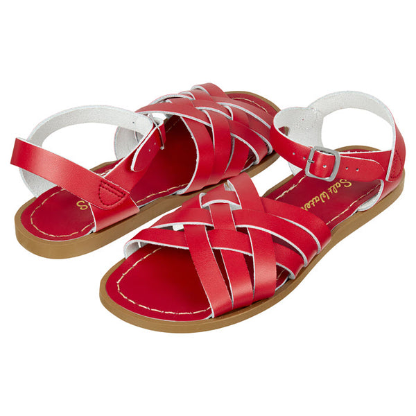 Salt Water Sandalen «RETRO» Red