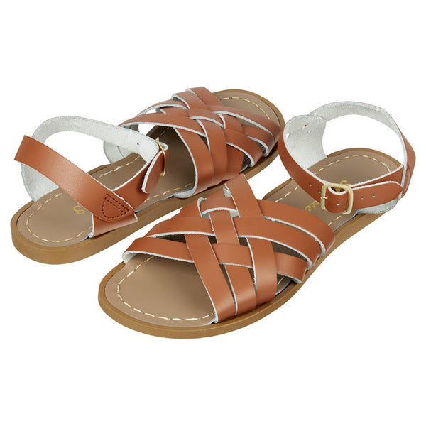 Salt Water Sandalen «RETRO» Tan